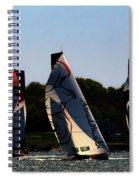 The Ocean Race Spiral Notebook