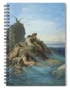 The Oceanides 1869 Spiral Notebook
