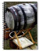 The Old Beer Barrel Spiral Notebook