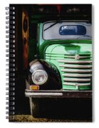 The Old Beer Truck Spiral Notebook