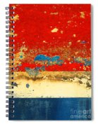 The Old Boat Spiral Notebook