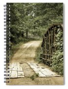 The Old Bridge Spiral Notebook