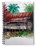 The Old Cocoa House  Spiral Notebook