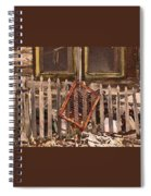 The Old Cooper House Front Grate Spiral Notebook
