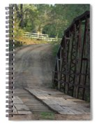 The Old Country Bridge Spiral Notebook