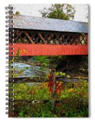 The Old Creamery Covered Bridge Spiral Notebook