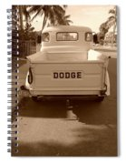 The Old Dodge Spiral Notebook