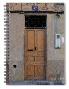 The Old Door. Spiral Notebook