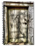 The Old Door Spiral Notebook