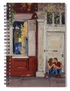 The Old Doorway Spiral Notebook