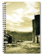 The Old Farm Spiral Notebook