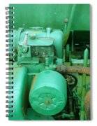 The Old Green Dumper Spiral Notebook