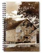 The Old Gristmill  Spiral Notebook