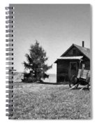 The Old Homestead Paint Spiral Notebook