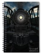 The Old Iron Bridge Spiral Notebook