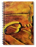 The Old Lock Spiral Notebook