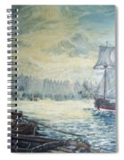 The Old London Bridge Spiral Notebook