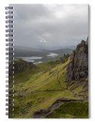 The Old Man Of Storr, Isle Of Skye, Uk Spiral Notebook