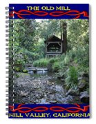 The Old Mill 2 Spiral Notebook
