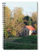 The Old Mill At Guilford II Spiral Notebook