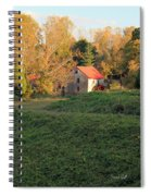 The Old Mill At Guilford Spiral Notebook