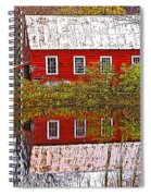 The Old Mill House Spiral Notebook