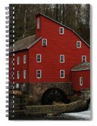 The Old Mill In Clinton Nj Spiral Notebook