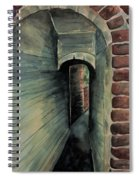 The Old Passageway Spiral Notebook