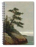The Old Pine, Darien, Connecticut, 1872  Spiral Notebook