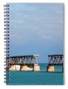 The Old Railroad To The Keys Spiral Notebook