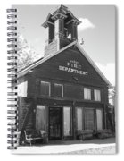 The Old Ridgway Firehouse Spiral Notebook