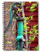 The Old Rusty Water Pump Spiral Notebook