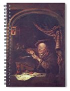 The Old Schoolmaster 1671 Spiral Notebook