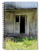 The Old Shed Spiral Notebook