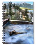 The Old Penstock Platform? Spiral Notebook