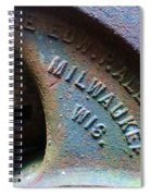 The Old Stamp Mill- Findley Mine Spiral Notebook