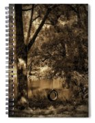 The Old Tire Swing Spiral Notebook
