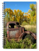 The Old Truck  Chama New Mexico Spiral Notebook
