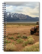The Old Truck Spiral Notebook