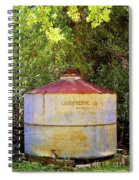 The Old Water Tank Spiral Notebook