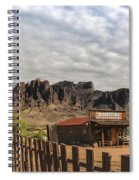 The Old West Spiral Notebook