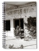 The Old Whistle Stop Cafe Spiral Notebook
