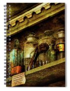 The Olde Apothecary Shop Spiral Notebook