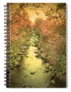 The Onset Of Autumn Spiral Notebook