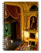 The Opera House Of Budapest Spiral Notebook