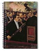 The Opera Orchestra Spiral Notebook