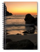 The Orange Glow At Whaleshead Spiral Notebook