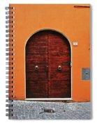 The Orange House Spiral Notebook