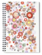 The Orbits Of Joy Spiral Notebook