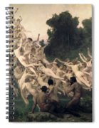 The Oreads Spiral Notebook